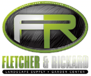 Landscape Supplies Fletcher Richard White Logo