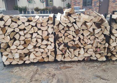 Half Face-cord Oak Firewood Landscape Supplies