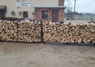 Oak Firewood Fletcher Rickard Landscape Supplies