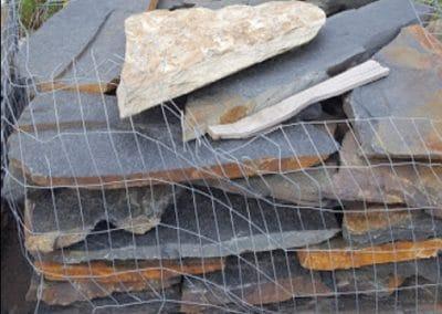 Fletcher Richard Landscape Supplies Black Shale Walkway Stones